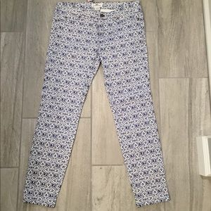 NWT Vineyard Vines Print Denim Jeans 4